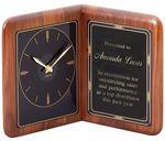 Custom Genuine Walnut Book Clock, 13