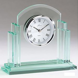 Glass Clocks Engravable -