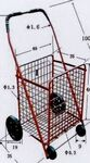 Custom Mid Size Metal Shopping Cart