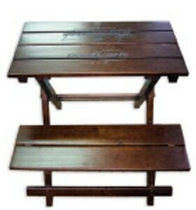 Pine Wood Foldable Picnic Table Benches 4 840 Picnic Ideastage