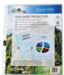 10 Pack Green Oath Poly Sheet Protector