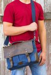 Custom Urban Edge by Canyon Dax Canvas Messenger Bag