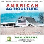 Custom American Agriculture Wall Calendar - Spiral