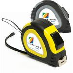 Custom 25' Foot Locking Tape Measure with Domed Decal Imprint