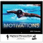 Custom Motivations Wall Calendar - Spiral - 2021