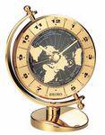 Custom Seiko Gold Globe World Clock