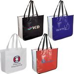 Custom Extra Large Laminated Shopping Tote