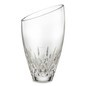 "Waterford Lismore Essence Crystal Angled Round Vase (9"")"