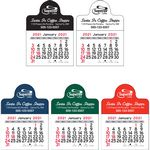 Small Circle Vinyl Adhesive Mini Stick Calendar - 2021