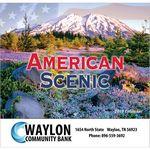 Custom 2019 American Scenic Wall Calendar - Stapled