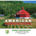 Custom 2019 American Agriculture Wall Calendar - Stapled