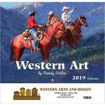 Custom 2019 Western Art Wall Calendar - Stapled