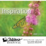 Custom 2020 Inspiration Wall Calendar - Stapled