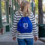 Custom Jumbo Non-Woven Drawstring Backpack