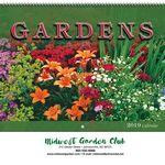Custom 2019 Gardens Wall Calendar - Spiral