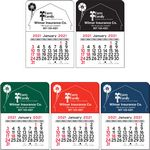 Barn Vinyl Adhesive Mini Stick Calendar - 2021