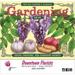Custom 2019 The Old Farmer's Almanac Gardening - Stapled