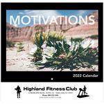 Custom Motivations Wall Calendar - Stapled