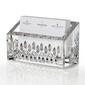 Custom Waterford Crystal Lismore Essence Desk Business Card Holder