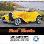 Custom 2019 Hot Rods Wall Calendar - Spiral