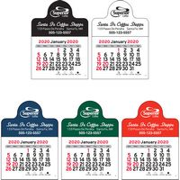 2020 Small Circle Vinyl Adhesive Mini Stick Calendar