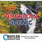 Custom 2020 American Scenic Wall Calendar - Spiral