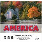 Custom America! Wall Calendar - Stapled