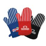 Oven Mitt w/ Silver Heat Resistant Backing