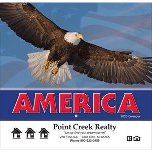 2020 America! Wall Calendar - Stapled