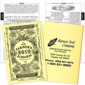 2019 The Old Farmers Almanac Booklet