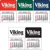 Rectangle Vinyl Adhesive Mini Stick Calendar - 2021