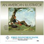 Custom An American Illustrator Wall Calendar - Spiral
