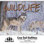 Custom 2019 Wildlife Wall Calendar - Spiral