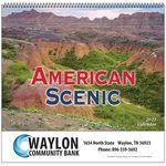 Custom American Scenic Wall Calendar - Spiral - 2021