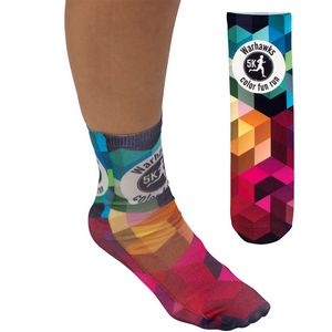 Full Color Unisex 13 Tube Promo Socks