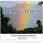 Religious Reflections Wall Calendar - Stapled - 2021