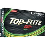 ***DISCONTINUED*** Top-Flite® D2+ Feel Golf Ball 15-Ball Pack (IN HOUSE)