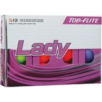 ***DISCONTINUED*** Top-Flite® Lady Golf Ball - Multicolor (IN HOUSE)