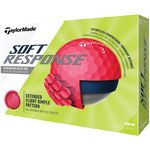 Taylormade® Soft Response Golf Ball - Matte Red (IN HOUSE)