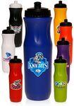 Custom 26 Oz. Plastic Sports Bottles with Push Top