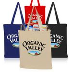 Custom Color Cotton Tote Bags (14.5