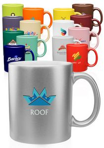 11 Oz. Traditional Coffee Mugs
