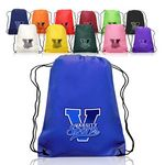 Custom Non-Woven Drawstring Backpacks (14.5