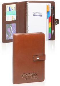 Small Brown PU Leather Planners (5x7.5)