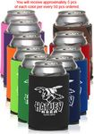 Custom Assorted Premium 4 Mm Collapsible Can Coolers