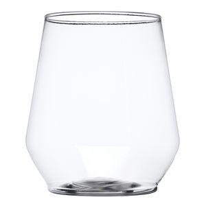 Custom 12 oz. Reserv Stemless Plastic Wine Glasses