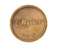 """1.75"""" Challenge Coins - Zinc Core-Antique Brass Plating (Super Saver)"""