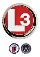"1.5"" Challenge Coins - Zinc Core-Nickel Plating (Priority)"