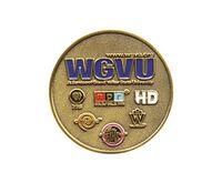 """1.5"""" Challenge Coins - Zinc Core-Antique Brass Plating (Super Saver)"""
