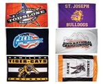 Custom Screen Printed Large Flags - Small Quantity (Super Saver - 3'x5')